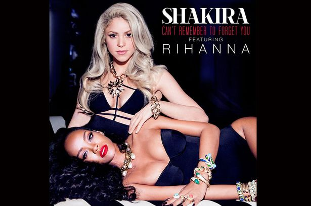 "New Music: Shakira Featuring Rihanna ""Can't Remember To Forget You"""