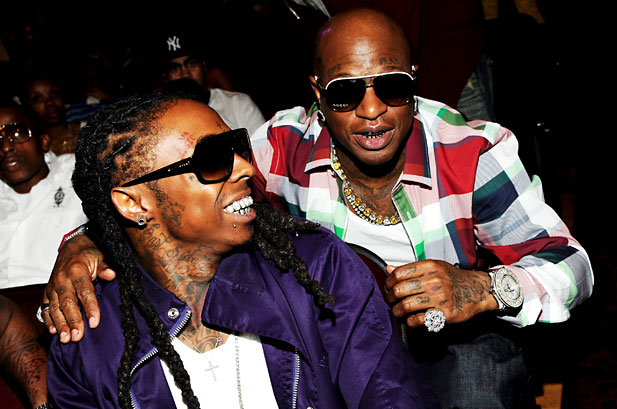 Birdman Goes Bad Girls Club on Lil Wayne, Starts Throwing Drinks